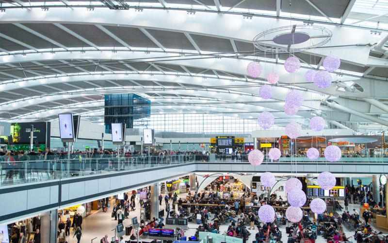 AEROPORTO HEATHROW EM LONDRES